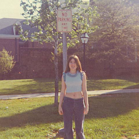 Teresa Dean Smeigh at 17 years old