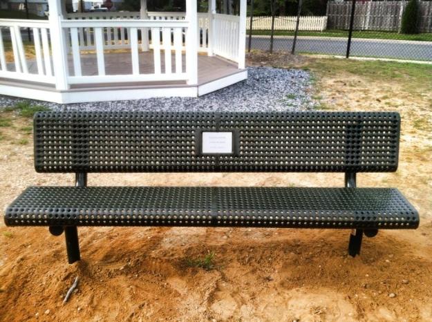 Mom's Memorial Bench