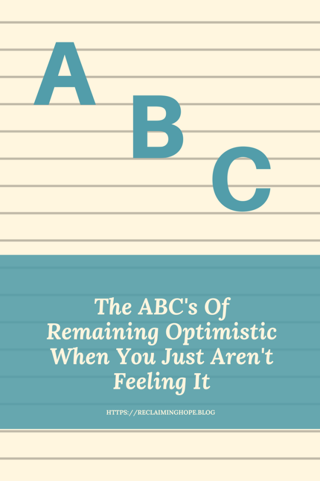 ABCs of Remaining Optimistic